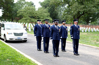 Capt Bauwin Memorial Service, 25 Aug 10